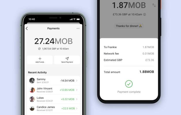 Signal tests payments in the UK using MobileCoin thumbnail