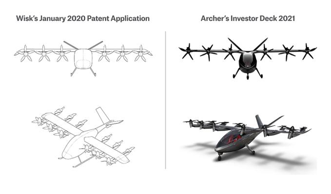 Wisk Aero sues Archer Aviation for alleged patent infringement, trade secret theft