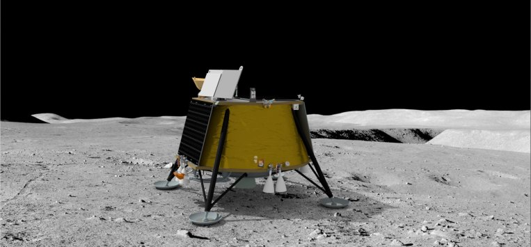 Firefly Aerospace's lunar lander will fly to the moon on a SpaceX Falcon 9 in 2023