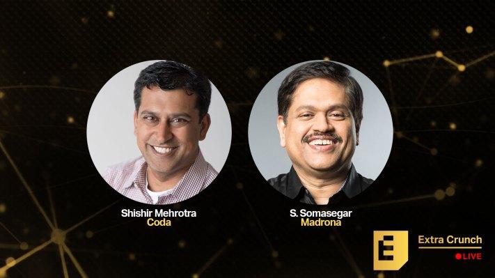 CEO Shishir Mehrotra and investor S. Somasegar reveal what sings in Coda's pitch doc - techcrunch