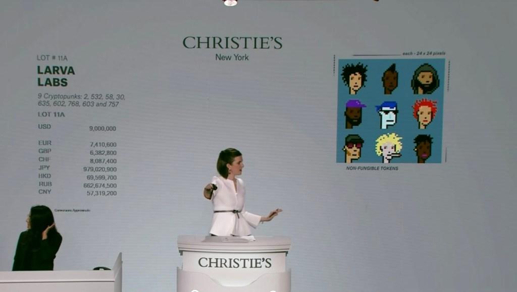 CryptoPunks NFT bundle goes for $17 million in Christie's auction    TechCrunch