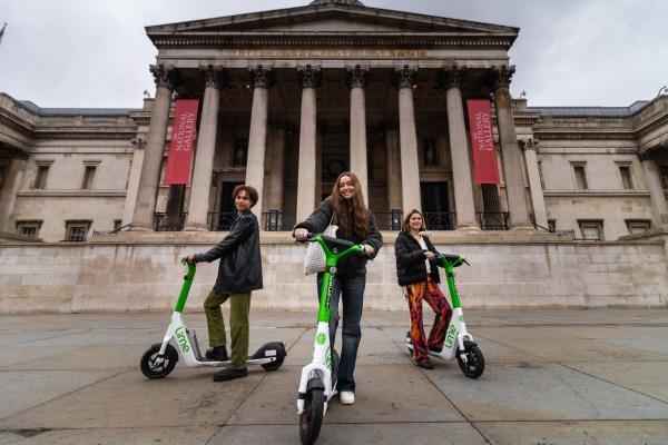 Dott, Lime и Tier выбраны для испытания электросамокатов в Лондоне