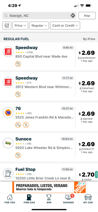 GasBuddy tops the App Store for the first time due to Colonial Pipeline attack