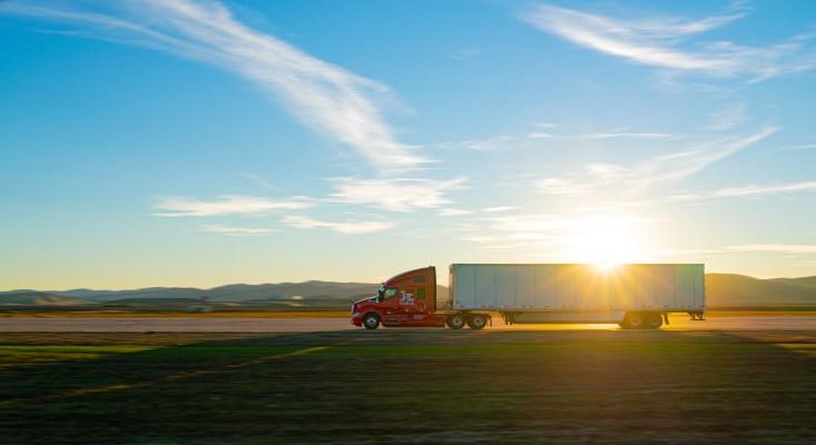 Kodiak truck sunset