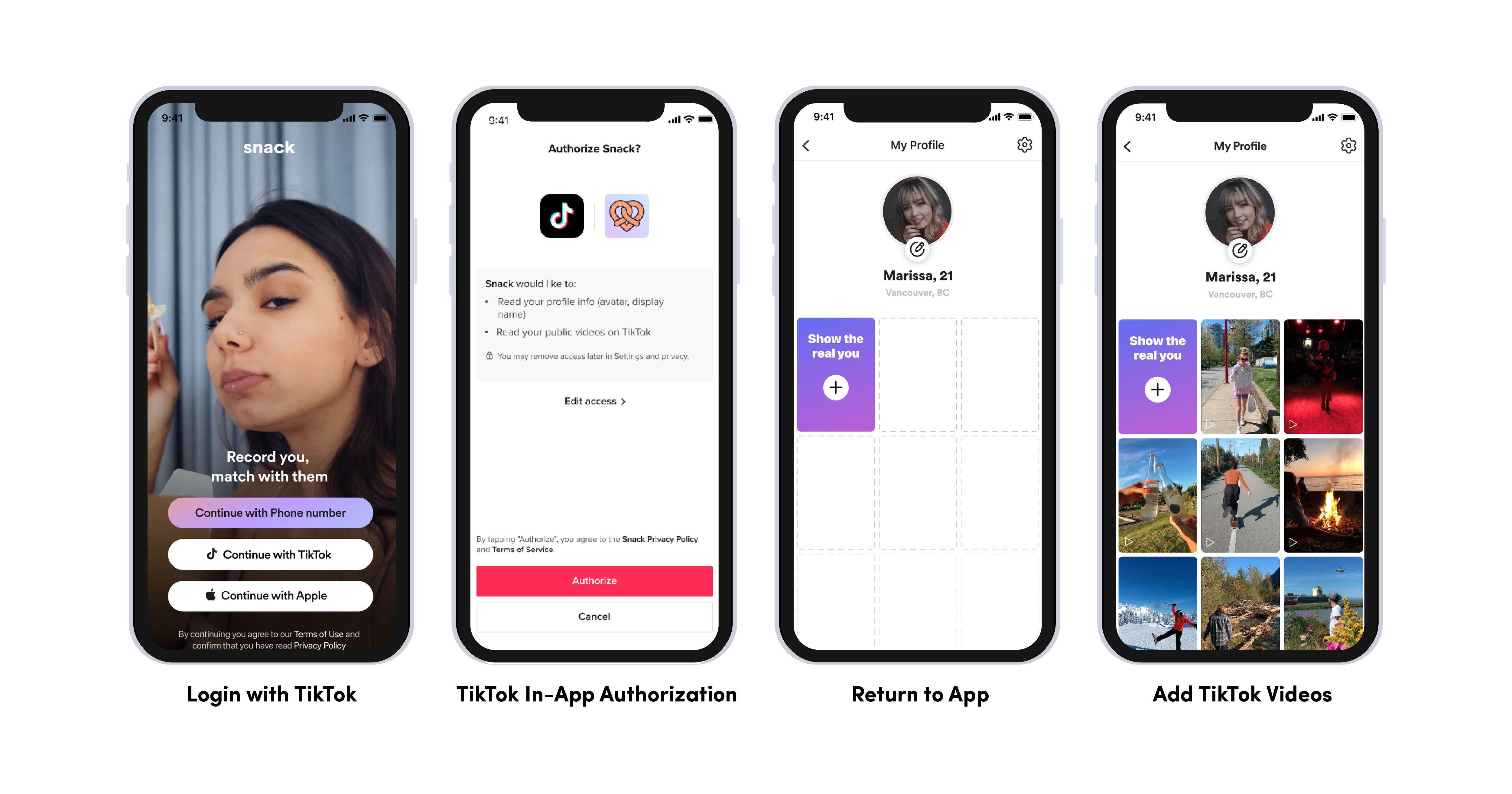 TikTok's new developer tools allow apps to offer 'Login with TikTok,' sound sharing, and more