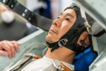 Yusaku Maezawa in centrifuge testing for his Soyuz flight.