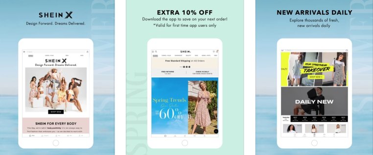 Shein overtakes Amazon as the most installed shopping app in US
