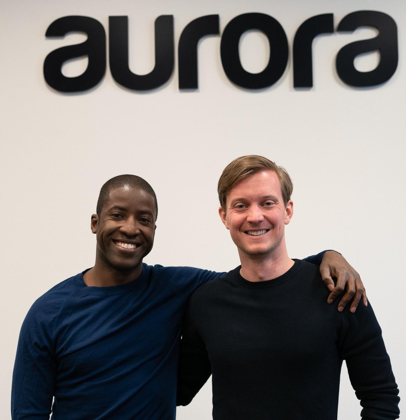 Aurora Solar co-founders Samuel Adeyemo (left) and Chris Hopper (right).