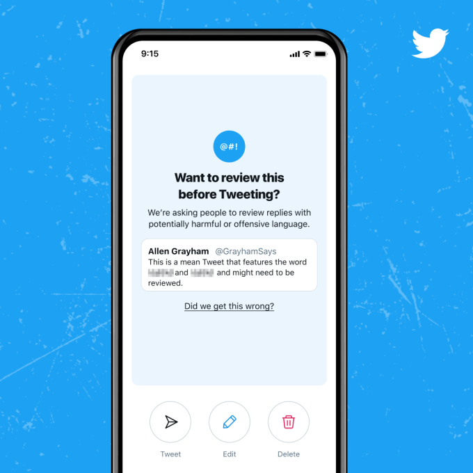 Twitter rolls out improved 'reply prompts' to cut down on harmful tweets