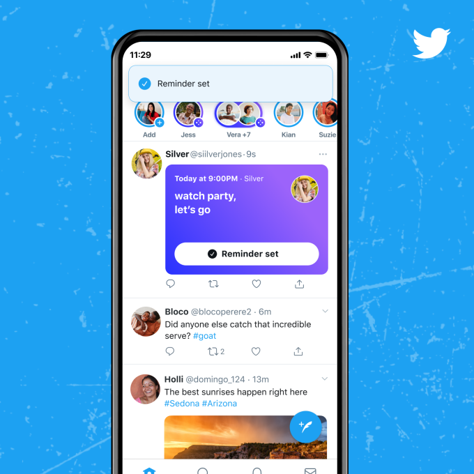 Twitter Expands Spaces To Anyone With Over 600 Followers, Details Ticket Plans, Reminders And More – TechCrunch
