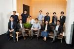 A group photo of deep-tech fund UTEC's team