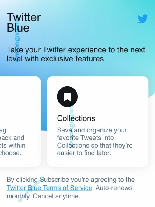 Twitter Blue, a $3 monthly subscription service, could be coming soon