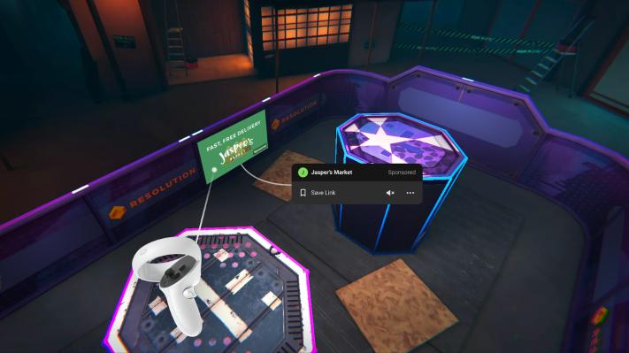 Facebook will begin beaming advertisements into virtual reality - TechCrunch thumbnail