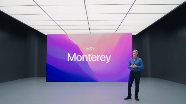 Apple unveils macOS 12 Monterey – TechCrunch