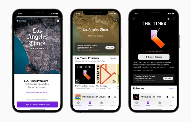 Apple Podcasts Subscriptions go live worldwide