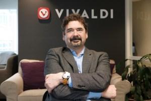 photo of Vivaldi CEO Jon von Tetzchner