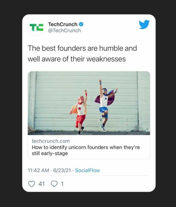 Example of tweet embedded on Instagram Story