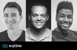 A composite photo of eqtble founders Ethan Veres, Gabe Horwitz and Joseph Ifiegbu