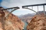 Hoover Dam area, Mike O'Callaghan, Pat Tillman bridge.