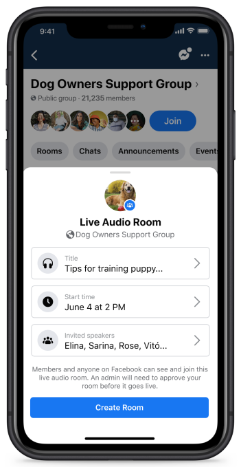 Facebook officially launches Live Audio Rooms and podcasts in the U.S. – TechCrunch 22