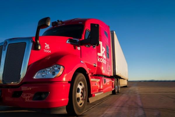 Kodiak truck forward