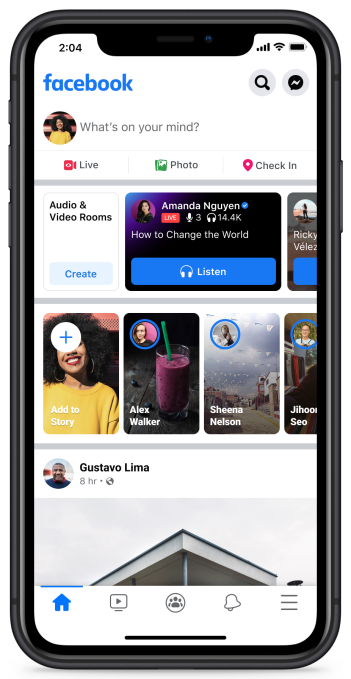 Facebook officially launches Live Audio Rooms and podcasts in the U.S. – TechCrunch 19
