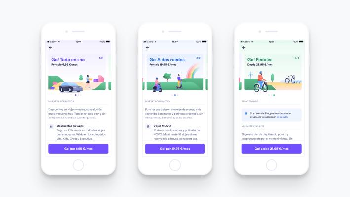 Cabify launches 'Cabify Go!', a multi-modal subscription service – TechCrunch