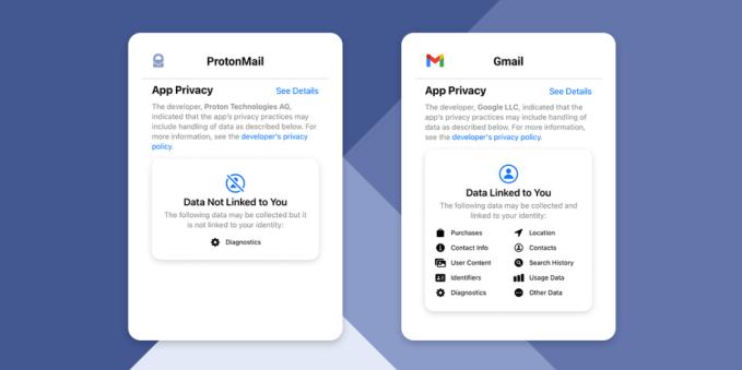 ProtonMail выглядит по-новому, так как технология конфиденциальности ориентирована на мейнстрим
