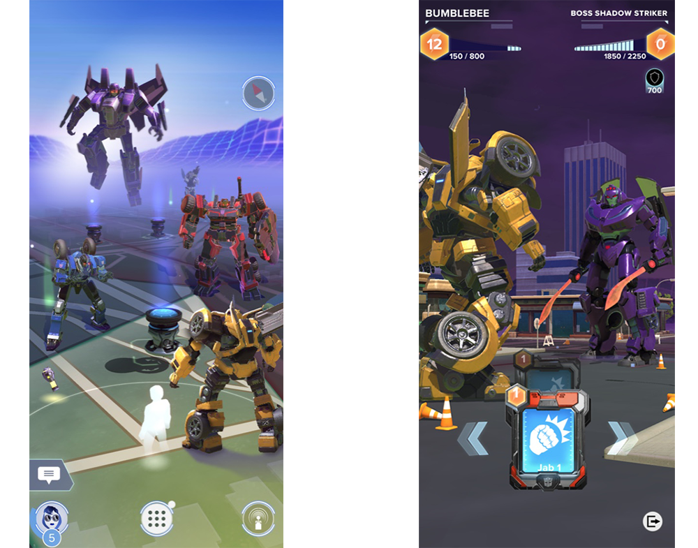 Niantic is working with Hasbro on a Pokémon GO-style Transformers game