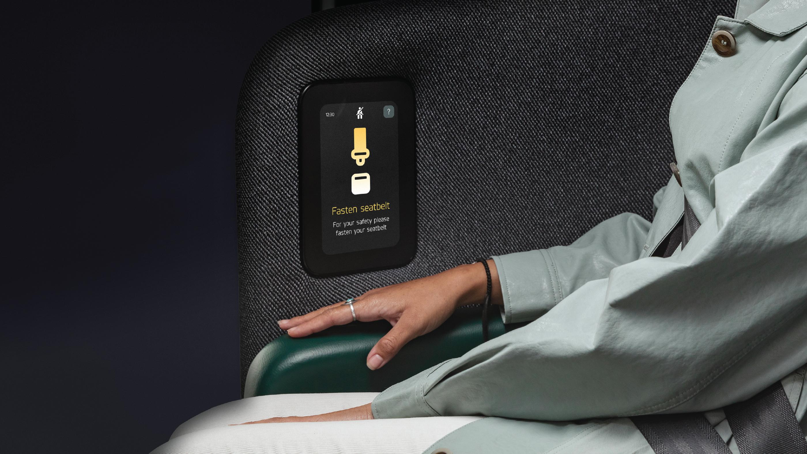 Zoox Seatbelt Notification