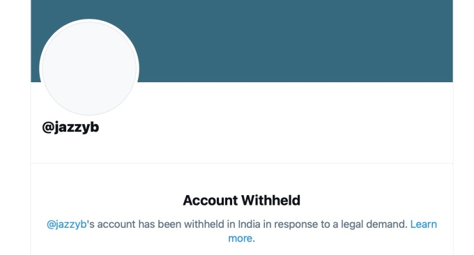 jazzb twitter india block