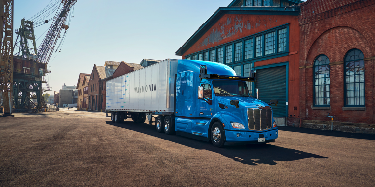 <p>Waymo and JB Hunt Spouse to Deliver autonomous trucks to Texas in new pilot thumbnail