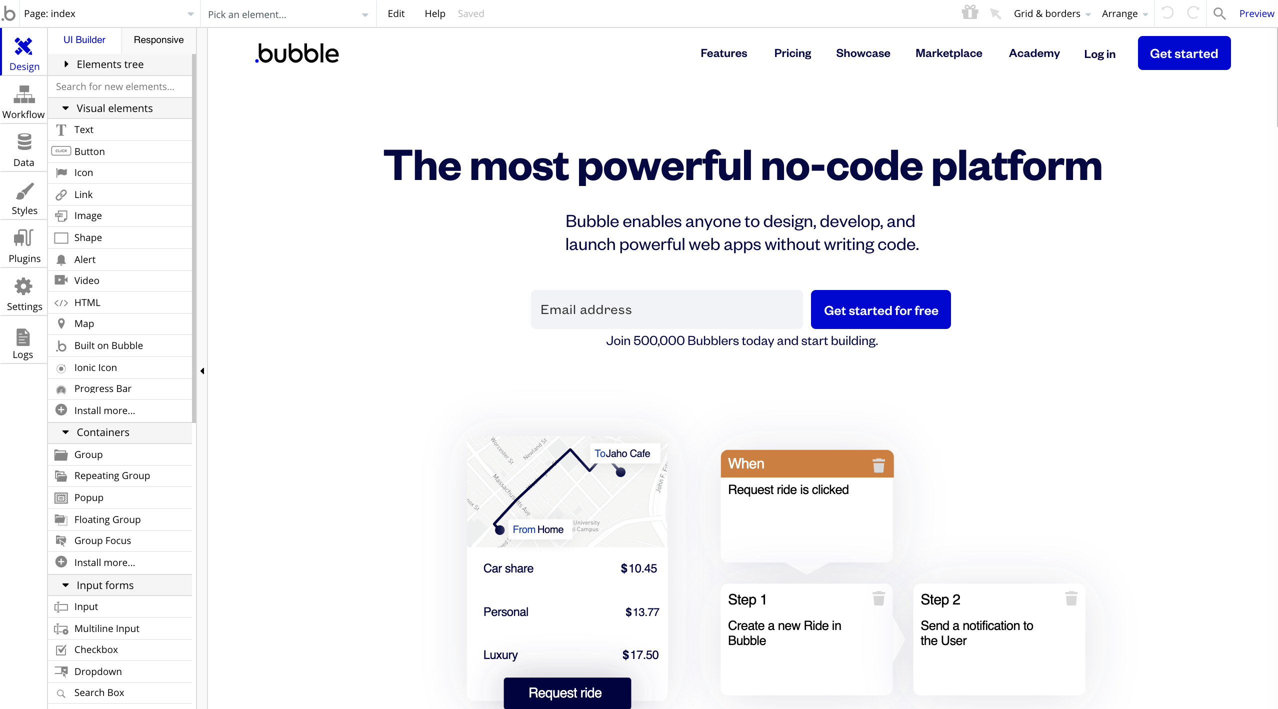 No-code Bubble raises $100M to make technical co-founders obsolete