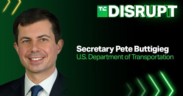 US Secretary of Transportation Pete Buttigieg is coming to Disrupt