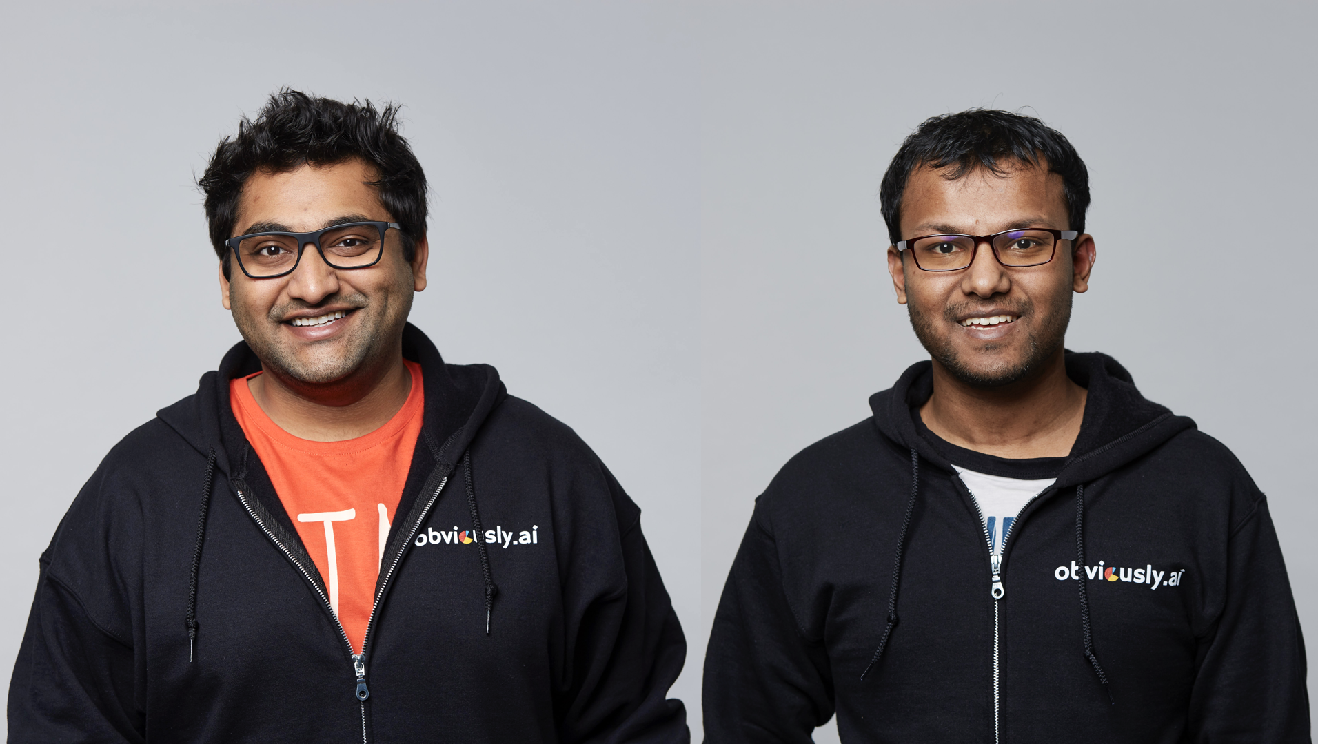 Obviously AI founders Nirman Dave and Tapojit Debnath