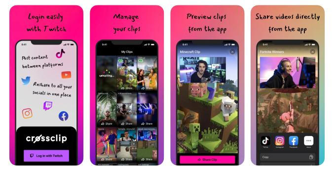 Crossclip iOS app
