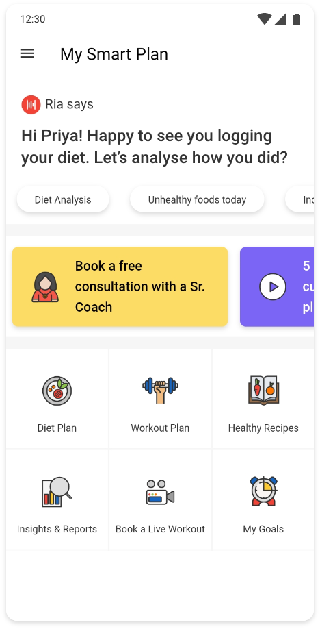 Fitness app HealthifyMe to expand worldwide after raising $75M Series C from LeapFrog and Khosla Ventures