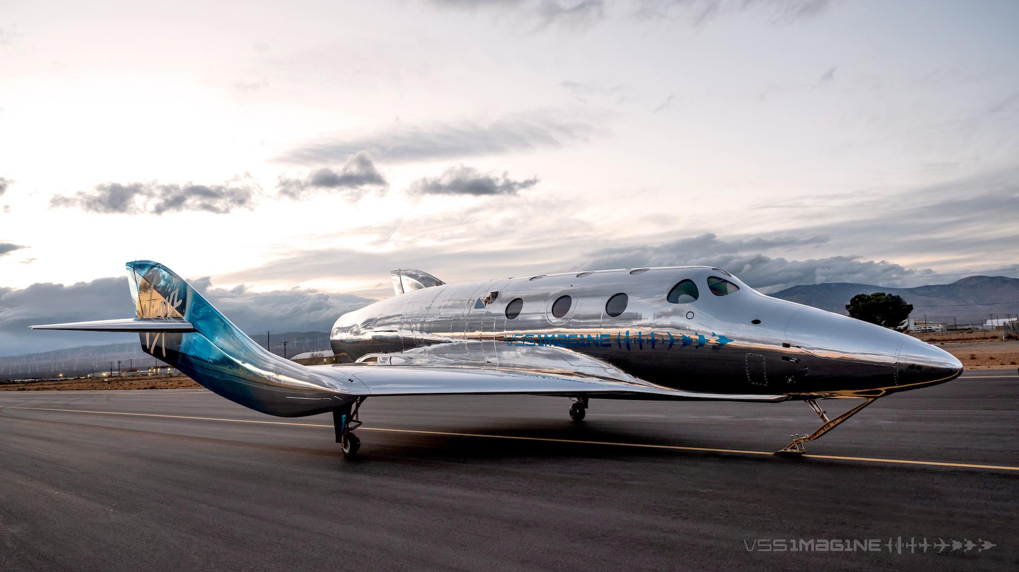 VSS Imagine on a runway.