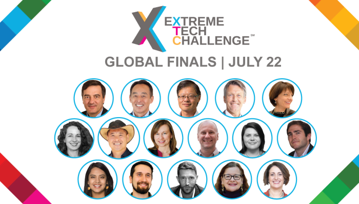 Tune in today to watch Extreme Tech Challenge (XTC) Global Finals