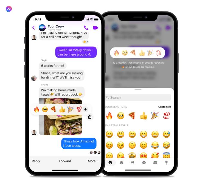 Facebook Messenger is stepping up its emoji game
