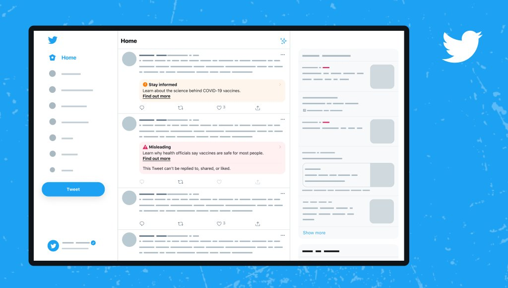 Twitter tests more attention-grabbing misinformation labels