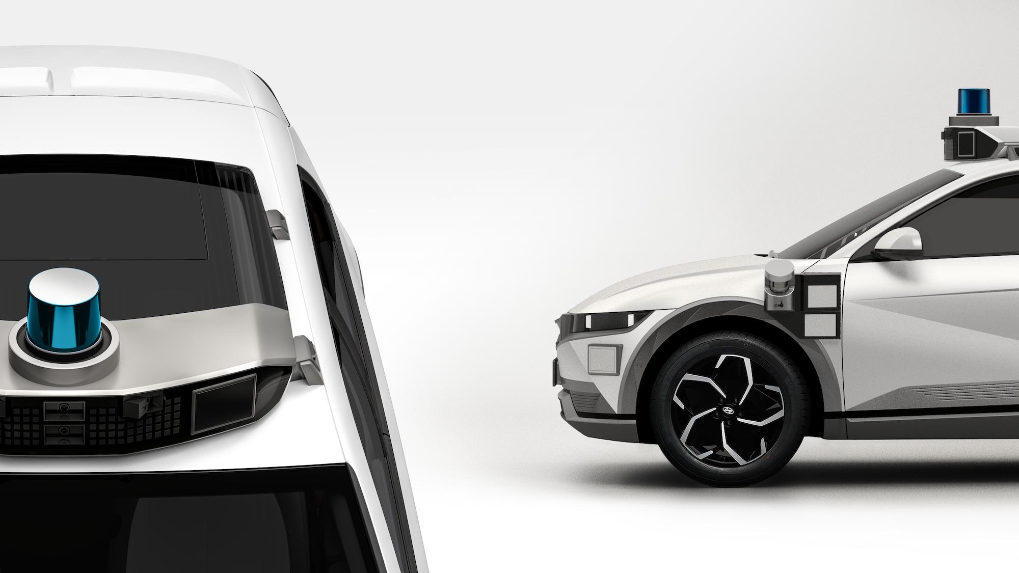 Motional-Hyundai robotaxi Ioniq 5