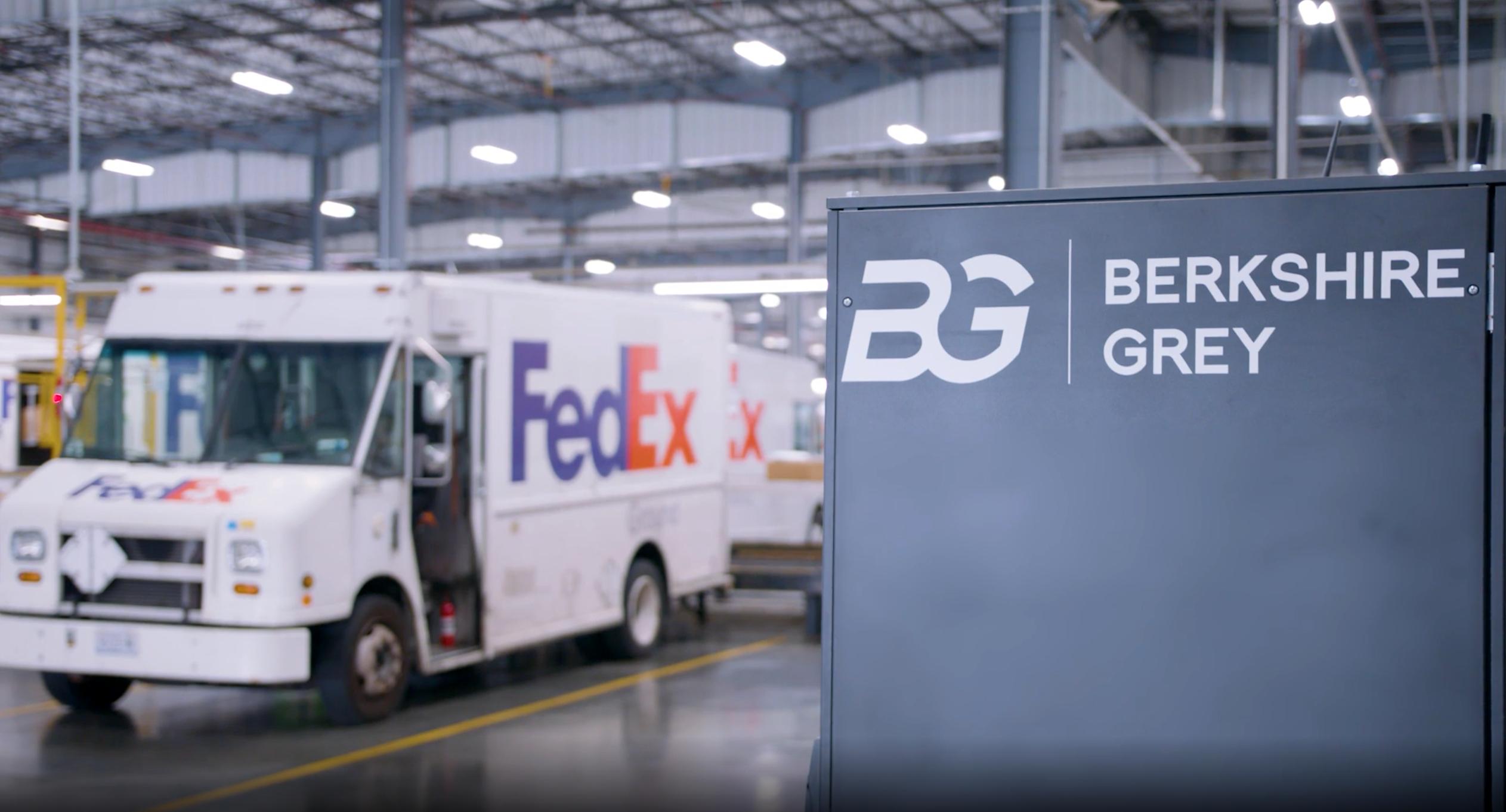 Berkshire Grey FedEx Truck