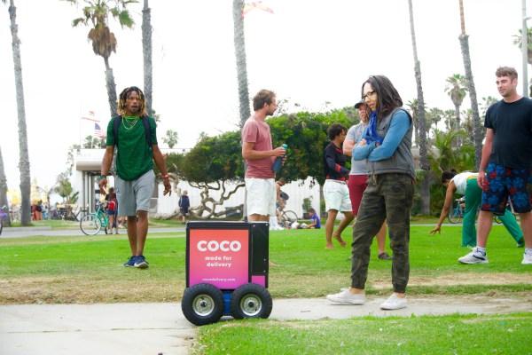 Last-mile robotic delivery firm Coco raises $36M