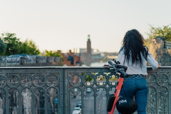 Micromobility startup Voi raises $45 million to end sidewalk riding, improve safety