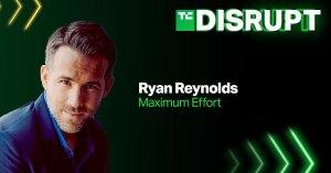 TechCrunch Disrupt Ryan Reynolds