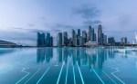 futuristic RENDITION of Singapore