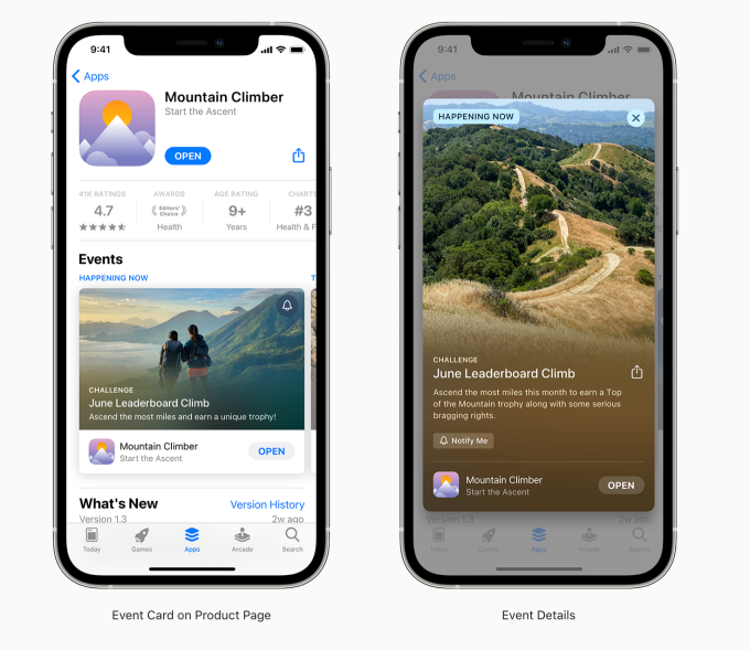 This Week in Apps: In-app events hit the App Store, TikTok tries Stories, Apple reveals new child safety plan