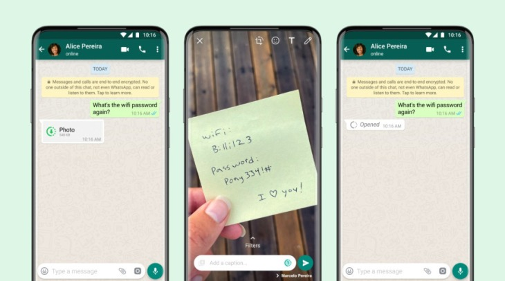 Single whatsapp WhatsApp Double