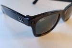Facebook Ray-Ban Stories smart sunglasses up close